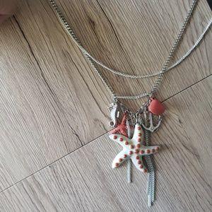 Lane Bryant Sea Scape Necklaces